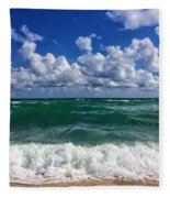 Beach Paradise Fleece Blanket
