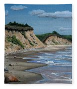 Beach Fleece Blanket