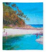 Beach Picnic Fleece Blanket