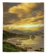 Beach Reflections Fleece Blanket