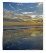 Beach Reflections Fleece Blanket