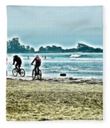 Beach Ride Fleece Blanket