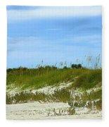 Beach Solitude Fleece Blanket