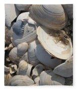 Beach Still Life IIi Fleece Blanket