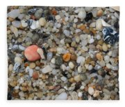 Beach Stones Fleece Blanket