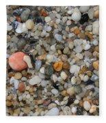 Beach Stones Fleece Blanket