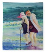 Beach Strollers II Fleece Blanket