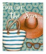 Beach Time-jp3618 Fleece Blanket