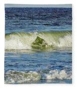 Beach Waves Fleece Blanket
