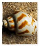 Beached Shell Fleece Blanket