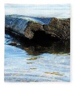 Beached Tree Fleece Blanket