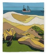 Beaches Fleece Blanket