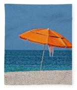 Beachin' 2  Fleece Blanket
