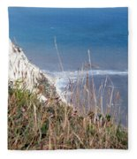 Beachy Head Sussex Fleece Blanket