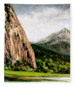 Beacon Rock Washington Fleece Blanket
