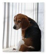 Beagle Attitude Fleece Blanket