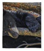 Bear Cub 2 Fleece Blanket