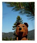 Bear Fleece Blanket