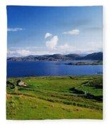 Beara Penninsula, Co Kerry, Ireland Fleece Blanket