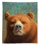Bearish Fleece Blanket
