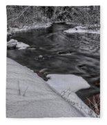 Bearskin Creek Riffles Fleece Blanket