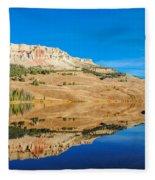 Beartooth Lake Fleece Blanket