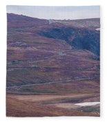 Beartooth Switchbacks Fleece Blanket