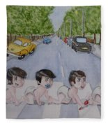 Beatles Abbey Road .... Babies Fleece Blanket