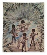 Beatles Fleece Blanket