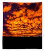 Beatrice, Nebraska August 2015 Fleece Blanket