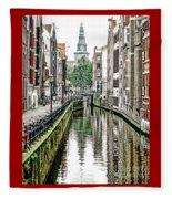 Beautiful Amsterdam Fleece Blanket