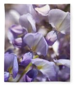 Beautiful And Magical Wisteria  Fleece Blanket