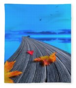 Beautiful Autumn Morning Fleece Blanket