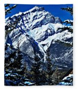 Beautiful Banff Fleece Blanket
