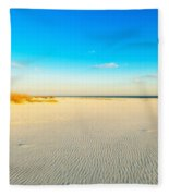 Beautiful Beach Fleece Blanket