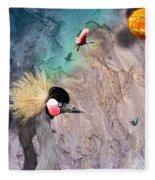 Beautiful Birds Fleece Blanket
