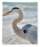 Beautiful Blue On The Beach Fleece Blanket