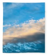 Beautiful Blue Skies Fleece Blanket