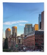 Beautiful Boston Fleece Blanket
