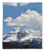 Beautiful Bow Lake Fleece Blanket
