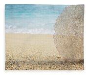 Beautiful Coral Element 1 Fleece Blanket