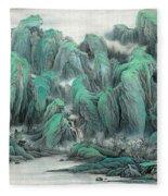 Beautiful Country Scene II Fleece Blanket