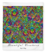 Beautiful Creatures Fleece Blanket