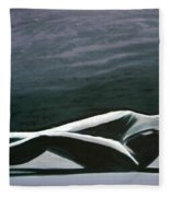 Beautiful Diver Fleece Blanket