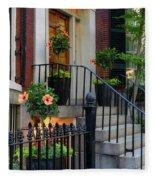 Beautiful Entrance Fleece Blanket