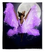 Beautiful Fairy Fleece Blanket