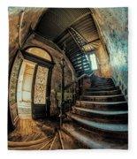 Beautiful Forgotten Staircase Fleece Blanket