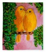 Beautiful Friendship Fleece Blanket