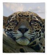 Beautiful Jaguar Fleece Blanket