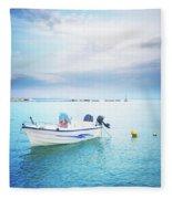 Greek Islands Fleece Blanket